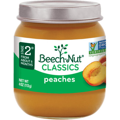 Beech-Nut® Stage 2 Classics Peaches