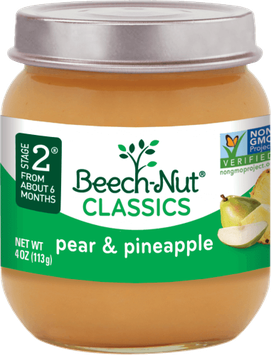 Beech-Nut® Stage 2 Classics Pear & Pineapple