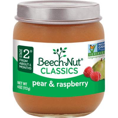 Beech-Nut® Stage 2 Classics Pear & Raspberry