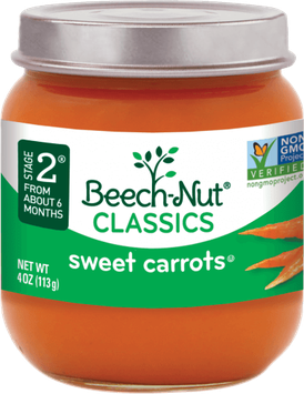 Beech-Nut® Stage 2 Classics Sweet Carrots