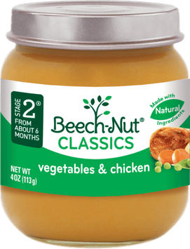 Beech-Nut® Stage 2 Classics Vegetables & Chicken