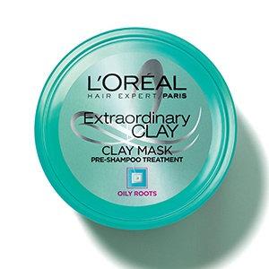 Slide: L'Oréal Paris Hair Expert Extraordinary Clay Pre-Shampoo Mask