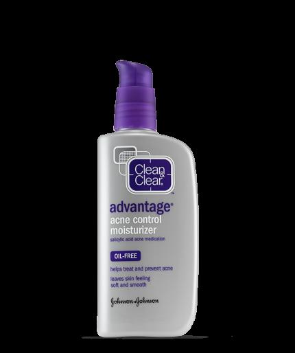 Clean & Clear® Advantage® Acne Control Moisturizer