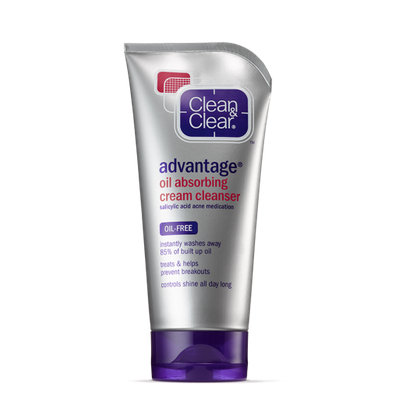 Clean & Clear® Advantage® Oil Absorbing Cream Cleanser