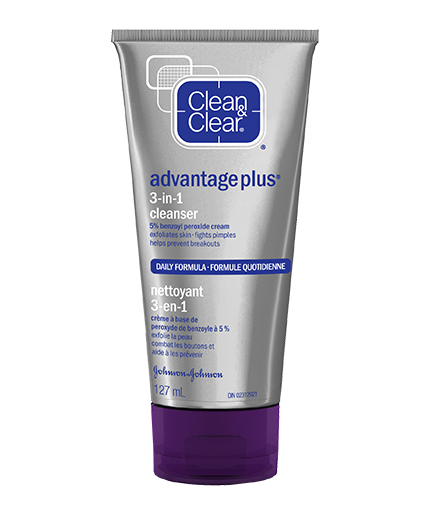 Clean & Clear® Advantage Plus 3-in-1 Cleanser