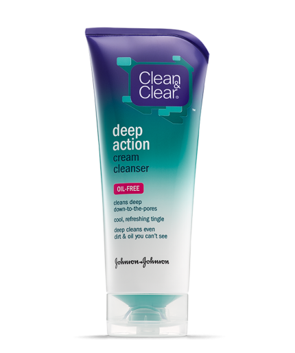Clean & Clear® Deep Action Cream Cleanser