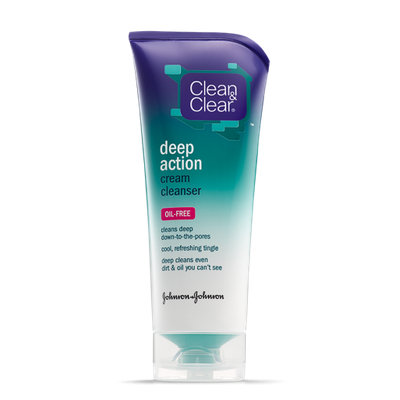 Clean & Clear® Deep Action Cream Cleanser