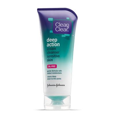 Clean & Clear® Deep Action Cream Cleanser Sensitive Skin
