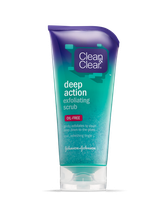 Clean & Clear® Deep Action Exfoliating Scrub