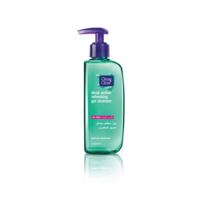 Clean & Clear® Deep Action Refreshing Gel Cleanser
