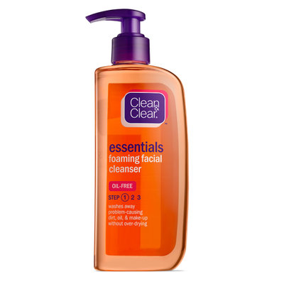 Clean & Clear® Essentials Foaming Facial Cleanser