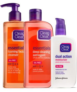 Clean & Clear® Essentials Skin Care Routine