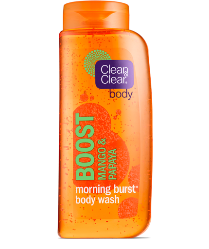 Clean & Clear® Morning Burst® Boost Body Wash
