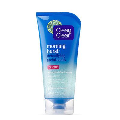Clean & Clear® Morning Burst® Detoxifying Facial Scrub