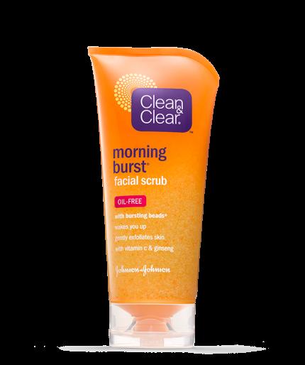 Clean & Clear® Morning Burst® Facial Scrub