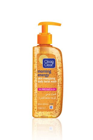 Clean & Clear® Morning Energy® Skin Energising Daily Facial Wash