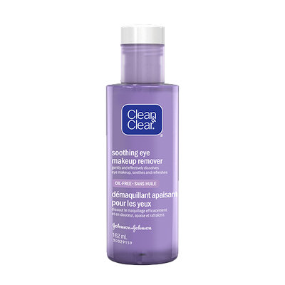 Clean & Clear® Soothing Eye Makeup Remover