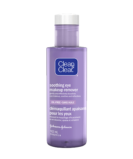 Clean and clear soothing eye makeup remover