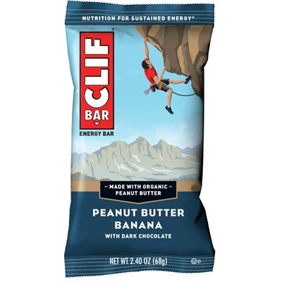 Clif Bar Peanut Butter Banana Dark Chocolate