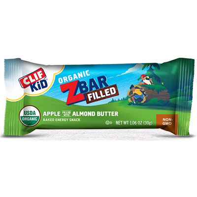 Clif Kid® Organic ZBar Filled Apple Filled with Almond Butter