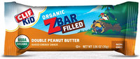 Clif Kid® Organic ZBar Filled Double Peanut Butter