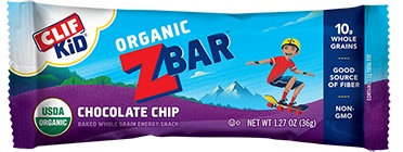 Clif Kid Zbar Chocolate Chip