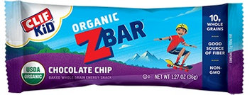 Clif Kid Zbar Chocolate Chip