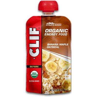 Clif Organic Energy Food Oatmeal Banana Maple