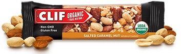 Clif Organic Trail Mix Bar Salted Caramel Nut