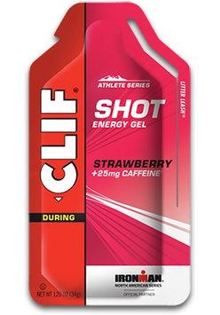 Clif Shot Energy Gel Strawberry With Caffeine