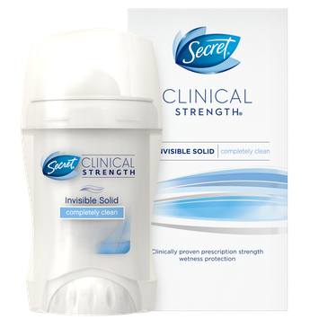 Secret® Clinical Strength Invisible Solid Completely Clean