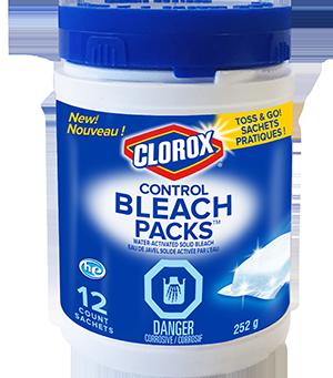 Clorox® Control Bleach Packs™