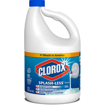 Clorox® Splash-Less® Bleach