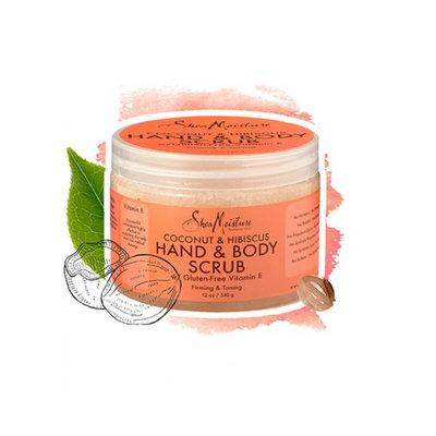 SheaMoisture Coconut & Hibiscus Hand & Body Scrub