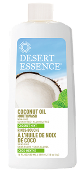 Desert Essence Coconut Oil Mouthwash