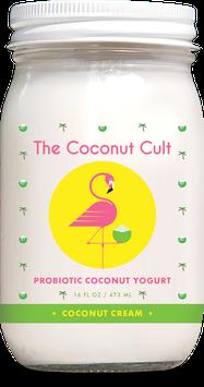 The Coconut Cult Probiotic Coconut Yogurts Coconut Cream