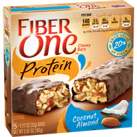 Fiber One Protein Chewy Bars Coconut Almond