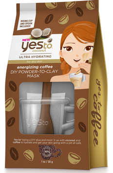 Yes To Coconut Energizing Coffee Diy Powder-to-clay Mask