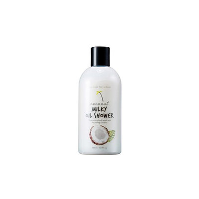 too cool for school Coconut Milky Oil Shower Moisturizing Body Wash