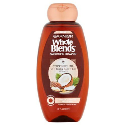 Garnier Whole Blends Coconut Oil & Cocoa Butter Extracts Smoothing Shampoo