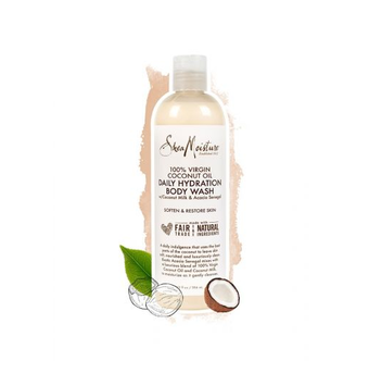 SheaMoisture 100% Virgin Coconut Oil Daily Hydration Body Wash