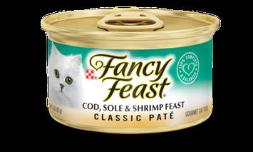 Fancy Feast® Classic Cod, Sole & Shrimp Gourmet Wet Cat Food