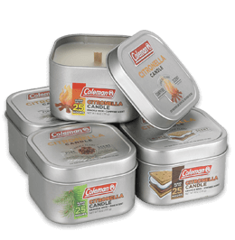 Coleman® Scented Citronella Tin Candles