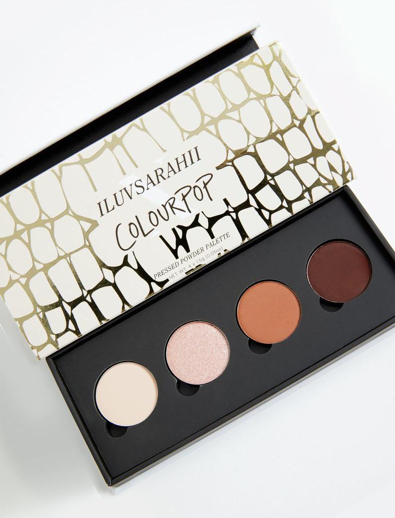 ColourPop Chic-y Pressed Powder Shadow Palette