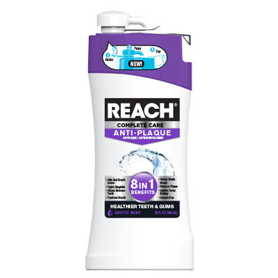 Reach Complete Care 8 in 1 Anti-Plaque Anti-Gingivitis Mouth Rinse