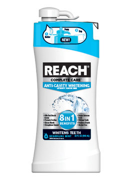 Reach Complete Care 8 In 1 + Whitening Mouth Rinse