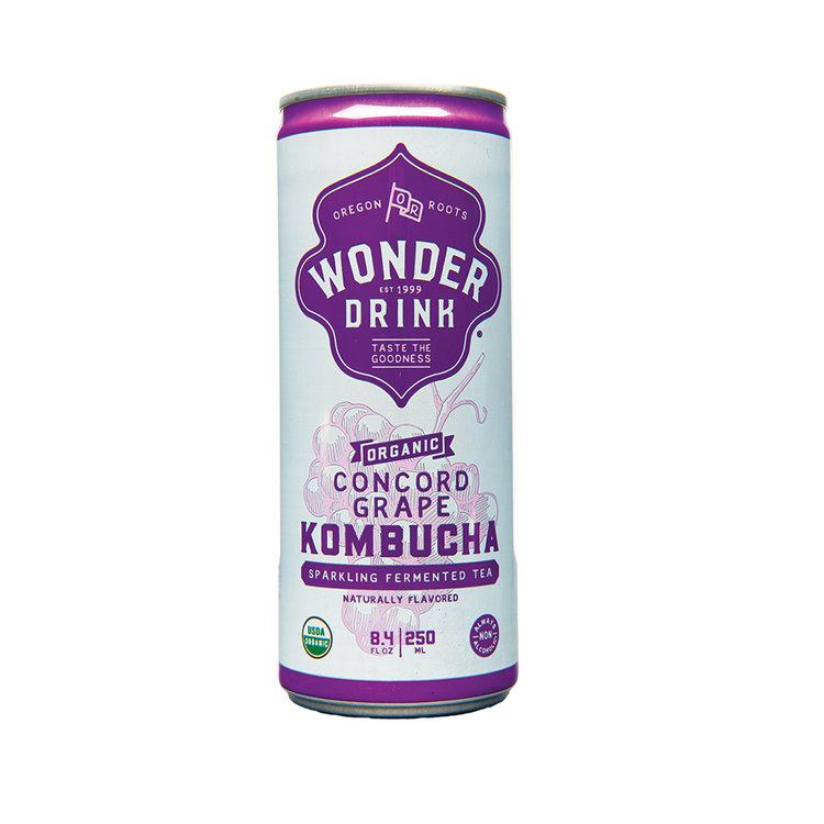 Kombucha Wonder Drink Concord Grape in Can