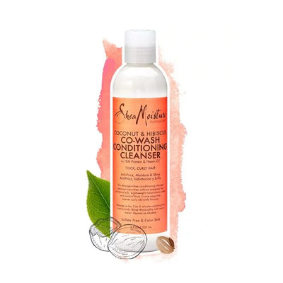 SheaMoisture Coconut & Hibiscus Co Wash Conditioning Cleanser