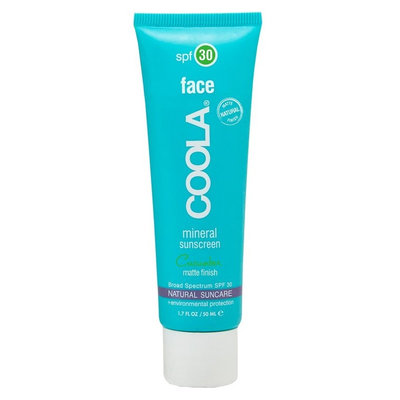 COOLA Mineral Face SPF 30 Matte Finish Sunscreen Lotion