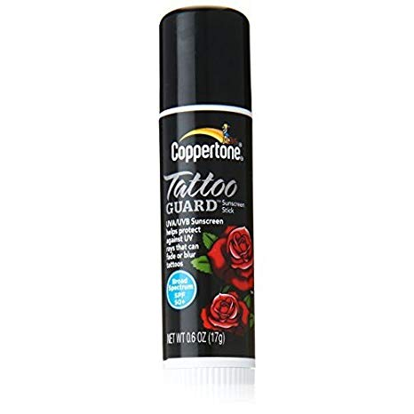 Coppertone Tattoo Guard Sunscreen Stick